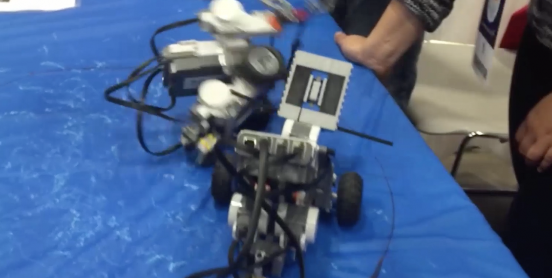 Robots Battle For Their Lives