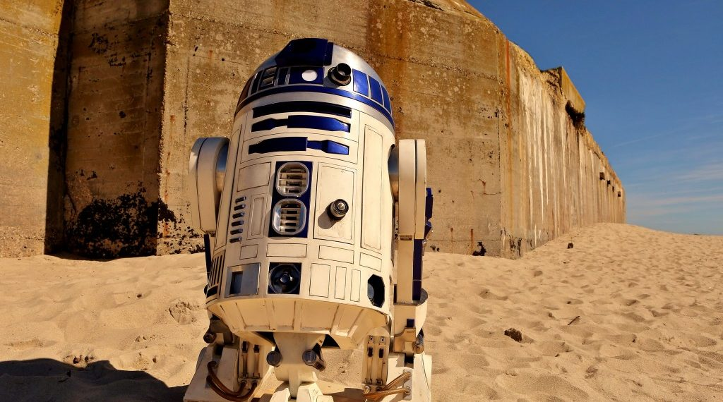 R2 D2 and Image Copyright of Disney
